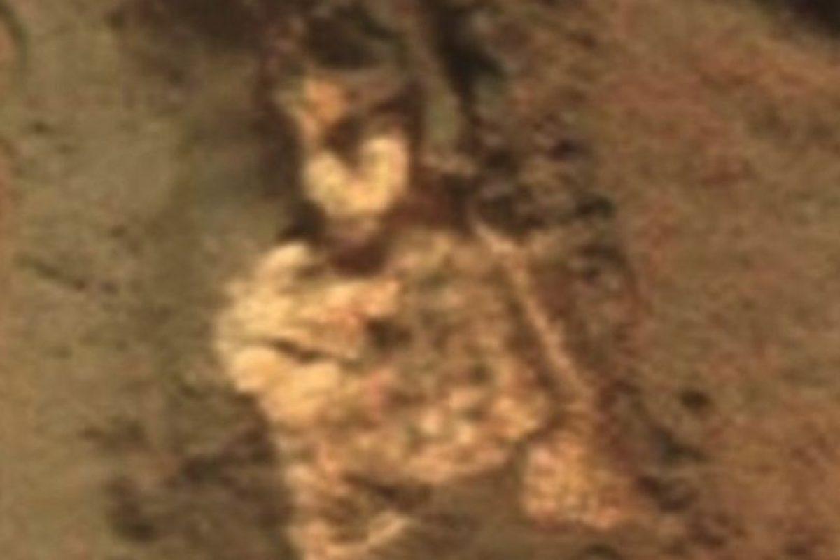 Supuesto esqueleto alienígena descubierto en Marte en junio de 2015 Foto:NASA. Imagen Por: