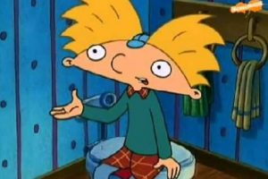 """""""Hey Arnold"""" es una clásica serie animada de Nickelodeon. Foto:Nickelodeon. Imagen Por:"""