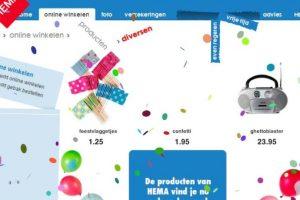5- La página de la tienda de descuentos holandesa HEMA tiene un divertido juego. Ingresen a producten.hema.nl ingresen el Código konami y disfruten el show. Foto:Google. Imagen Por: