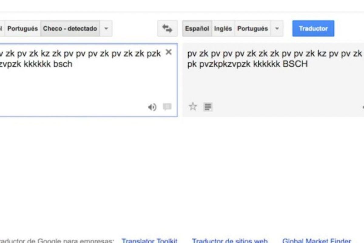 """8- Para disfrutar de la música, nada mejor que un Dj con solamente sonidos bocales. En el traductor de Google escriban """"pv zk pv pv zk pv zk kz zk pv pv pv zk pv zk zk pzk pk pvzkpkzvpzk kkkkkk bsch"""" y den click al ícono de la bocina en la parte inferior. Foto:Google. Imagen Por:"""