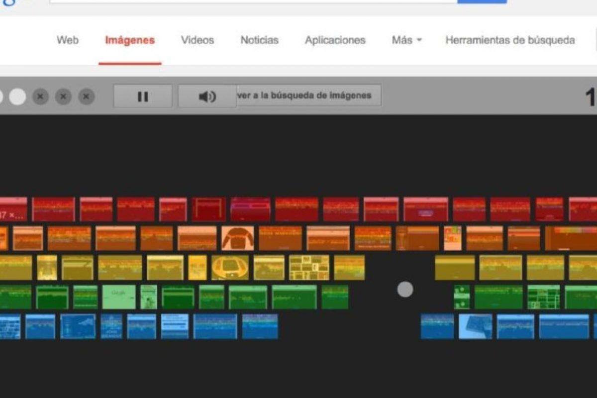 """7- Si no les gustó Zerg Rush, tenemos un juego más rápido. Ingresen a google.com/imghp y escriban en la barra de búsqueda """"Atari Breakout"""" y den enter. Estén preparados porque comenzará inmediatamente. Foto:Google. Imagen Por:"""