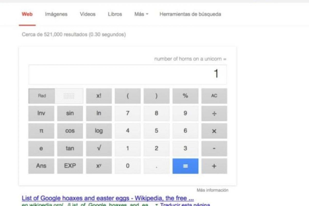 """9- Si sufren porque no saben la respuesta a preguntas existenciales, Google los ayuda. Si quieren conocer cuál es el número más solitario, busquen """"loneliest number"""". Foto:Google. Imagen Por:"""
