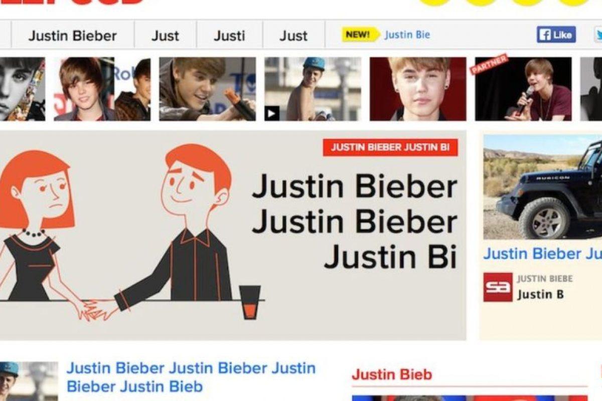 PLUS: Para todas las fanáticas de Justin Bieber, entren a buzfeed.com introduzcan el Código Konami y sean felices. Foto:Google. Imagen Por:
