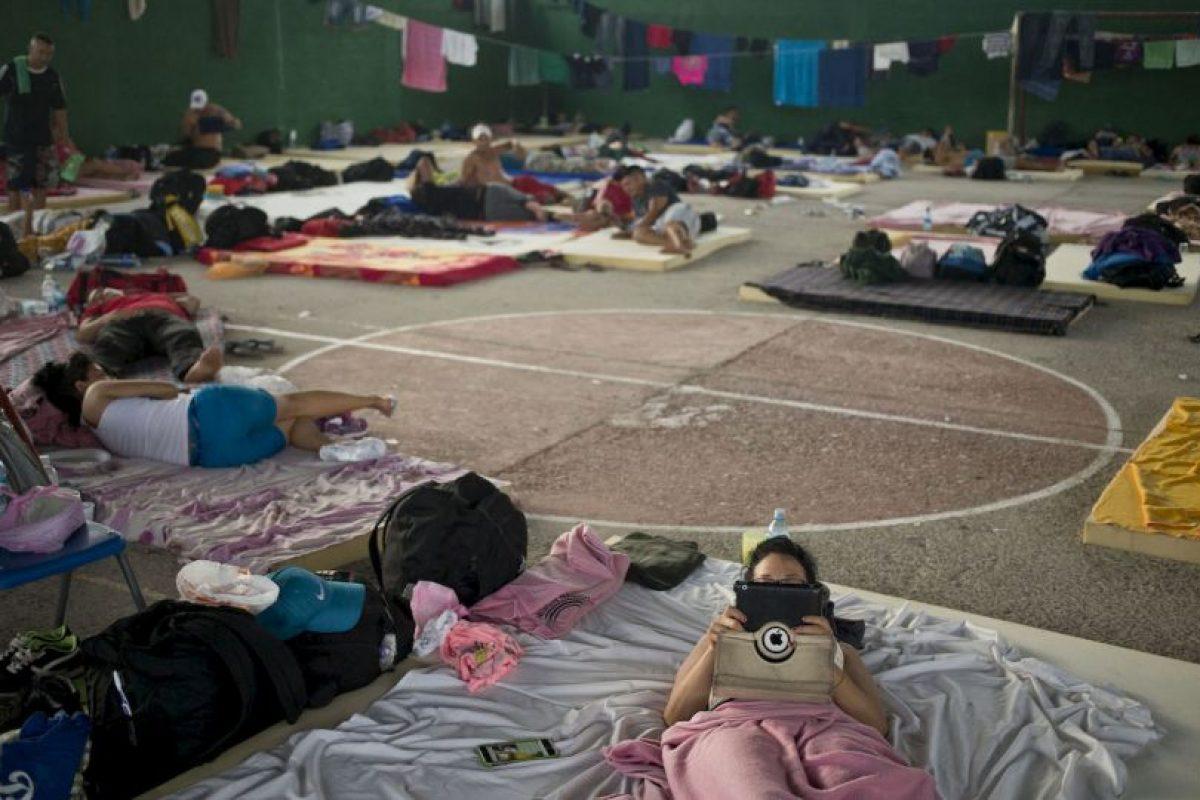 4. Entre las soluciones al problema están transportar a los migrantes a Honduras en barco o en avión. Foto:AP. Imagen Por:
