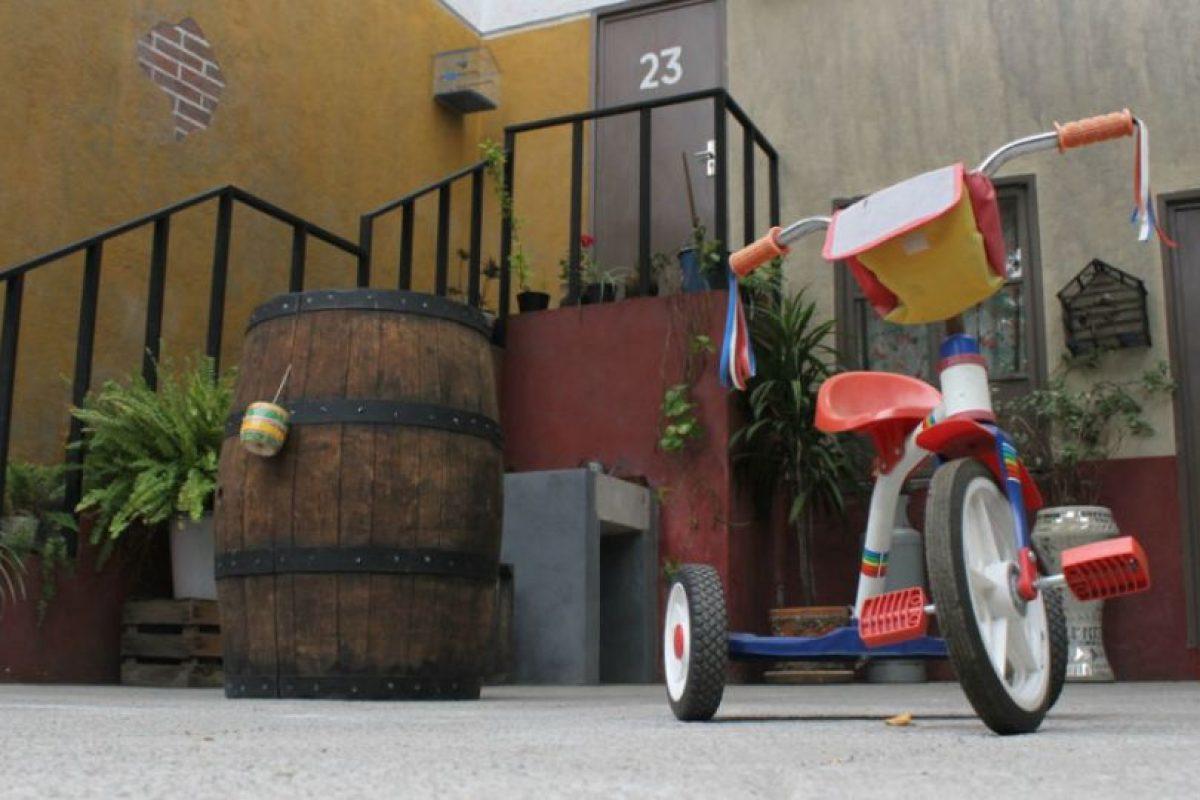 """Al fondo, la casa de """"Jaimito el cartero"""". Foto:Nicolás Corte. Imagen Por:"""