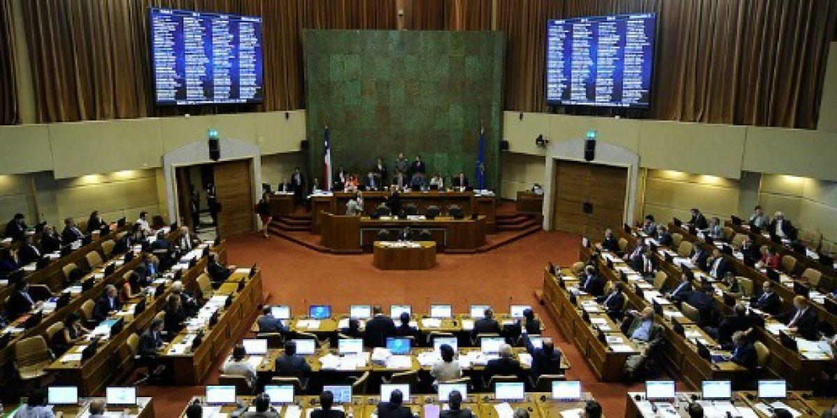 Cámara de Diputados rechaza reajuste del Gobierno para empleados públicos