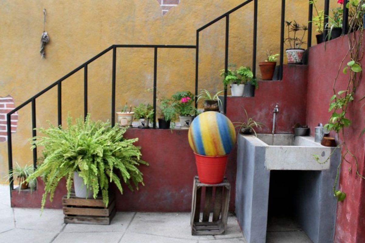 """Al fondo, la clásica pelota de """"Kiko"""". Foto:Nicolás Corte. Imagen Por:"""