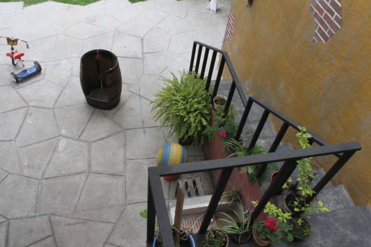 """Desde la casa de """"Jaimito el cartero"""". Foto:Nicolás Corte. Imagen Por:"""