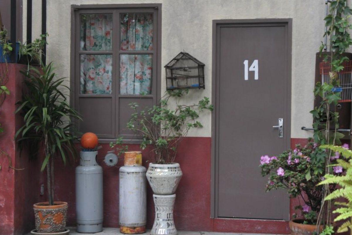 """La casa de """"Kiko"""" y """"Doña Florinda"""". Foto:Nicolás Corte. Imagen Por:"""