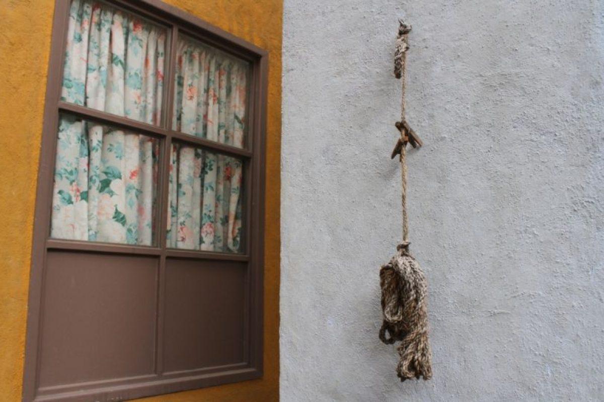 Los tendederos para colgar la ropa. Foto:Nicolás Corte. Imagen Por: