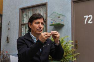 Roberto Gómez Fernández sabe del legado de su padre. Foto:Nicolás Corte. Imagen Por: