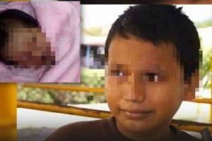 1. Alberto tuvo un bebé a los 11 años. Foto:Vía Twitter. Imagen Por: