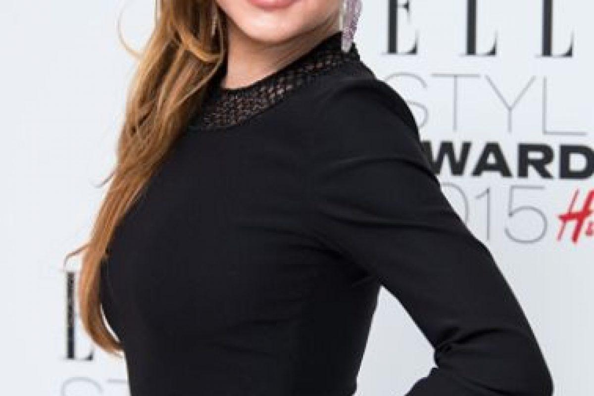 En el caso de Lohan, se ve como Taylor a sus 70 años. Foto:vía Getty Images. Imagen Por: