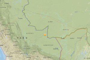 El Servicio Geológico de Estados Unidos (USGS) señaló que se trató de un temblor de 7.5 grados en escala Richter Foto:Vía Twitter. Imagen Por: