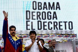 """En marzo de este año, el presidente Barack Obama firmó un decreto en el que se establecía que Venezuela era una """"amenaza para la seguridad nacional"""" del país. Foto:AFP. Imagen Por:"""