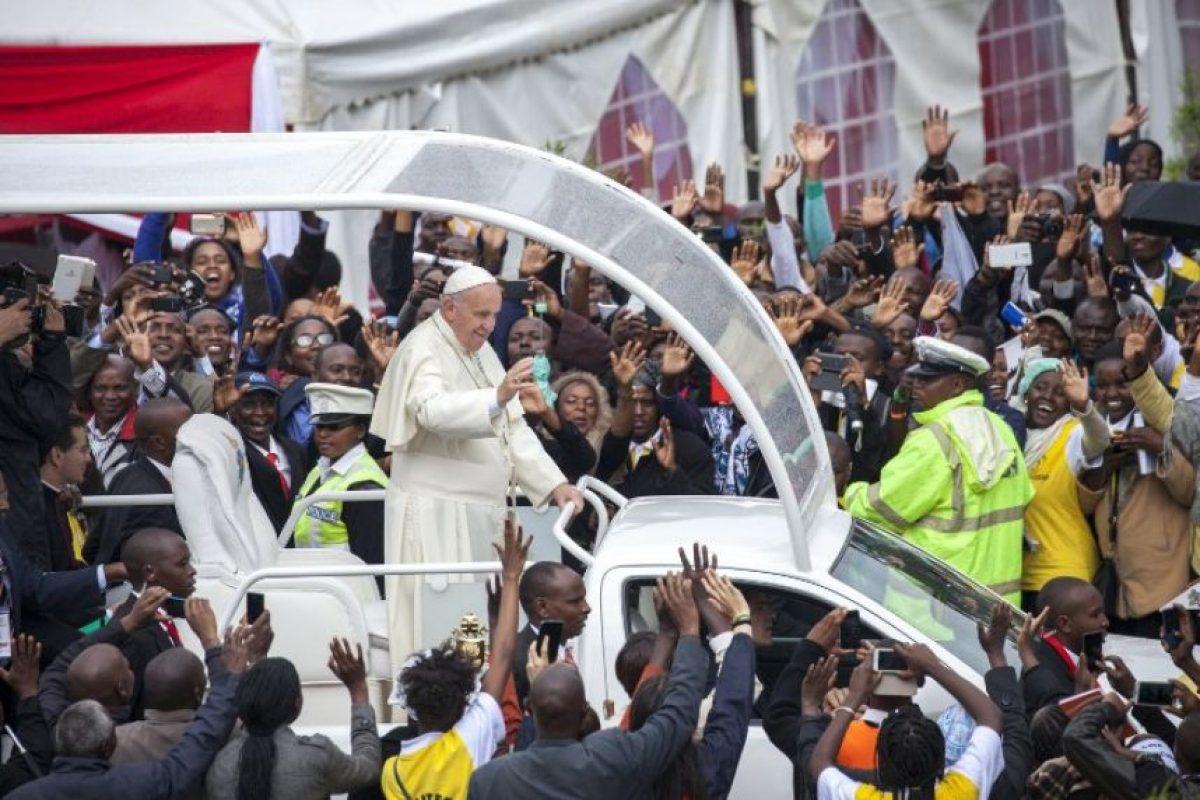 Lo inició en Kenya y lo llevará a Uganda y República Centroafricana. Foto:AFP. Imagen Por: