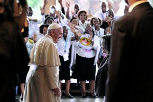 Esta es la primera vez que visita África. Foto:AFP. Imagen Por: