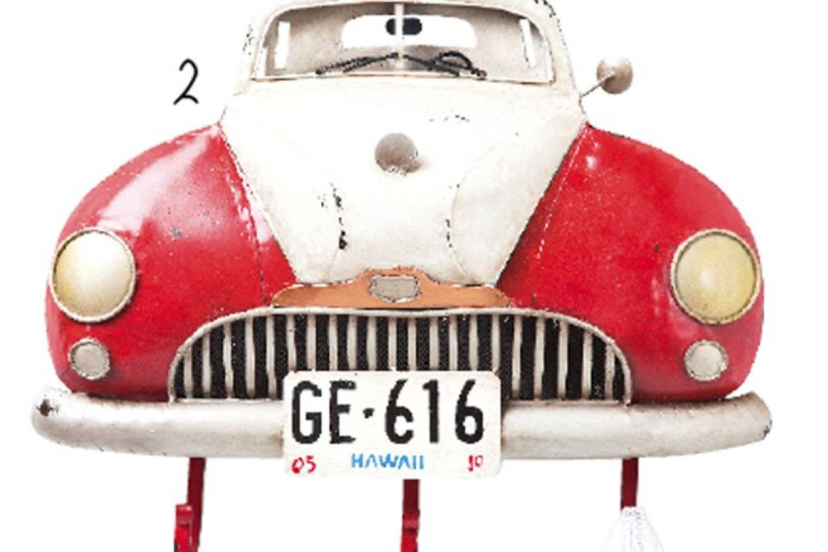 Perchero en forma de auto, Kare Design.. Imagen Por: