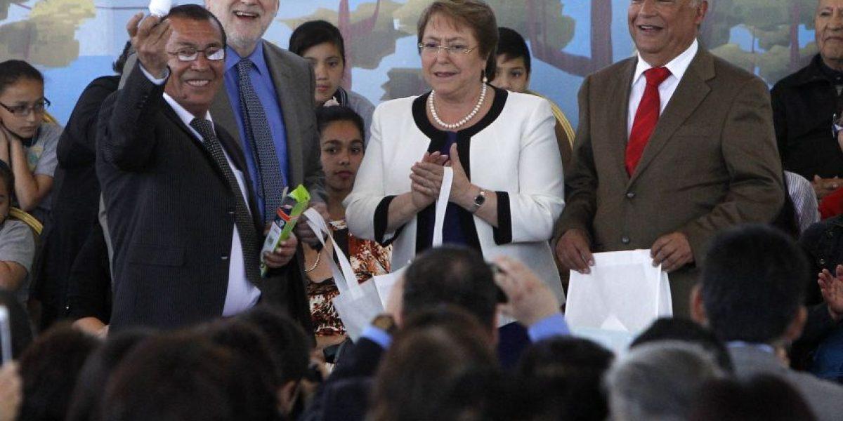 """Presidenta Bachelet por gratuidad: """"No se trata de dar un cheque en blanco a todos"""""""
