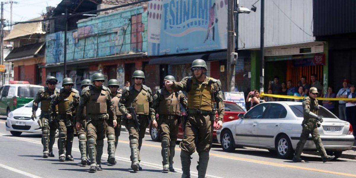Detienen a todos los asaltantes tras balacera en Recoleta