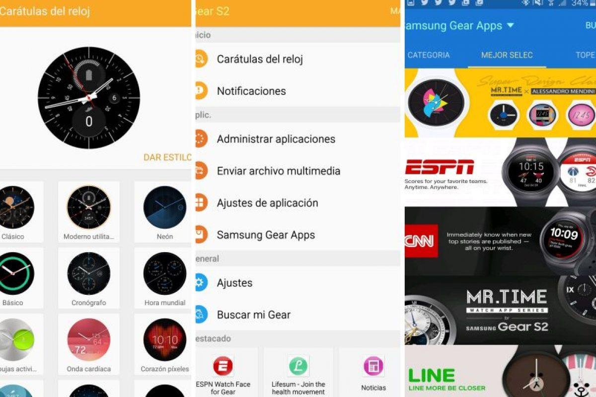 Capturas de pantalla de la app Gear del Galaxy Note 5 Foto:Publimetro / Víctor Jaque. Imagen Por: