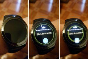 Una de las funciones del Gear S2: monitorear el movimiento del usuario Foto:Publimetro / Víctor Jaque. Imagen Por: