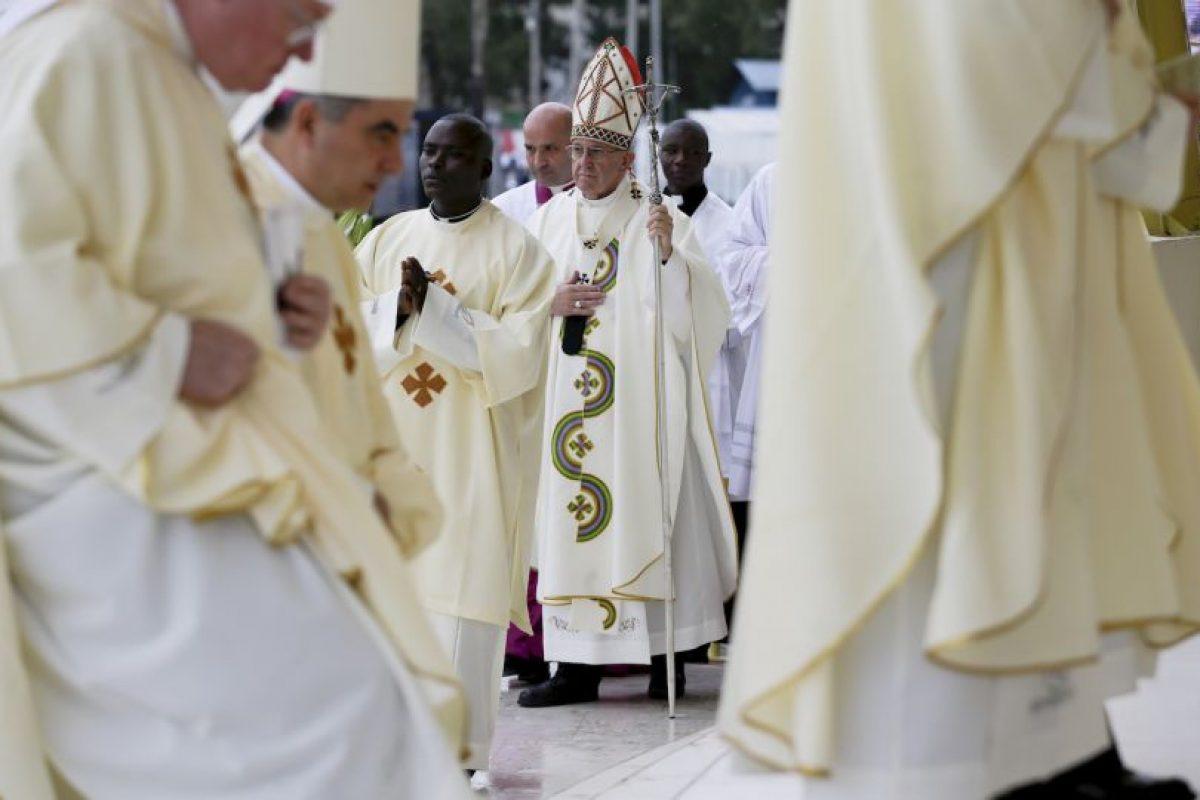 Este es el primer viaje del papa Francisco a África Foto:AP. Imagen Por: