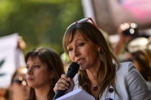Ana María Gazmuri es miembro del equipo central de Fundación Daya Foto:Agencia Uno. Imagen Por: