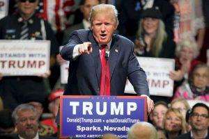 Desde que anunció su campaña en junio ha formado parte de distintas polémicas. Foto:AP. Imagen Por: