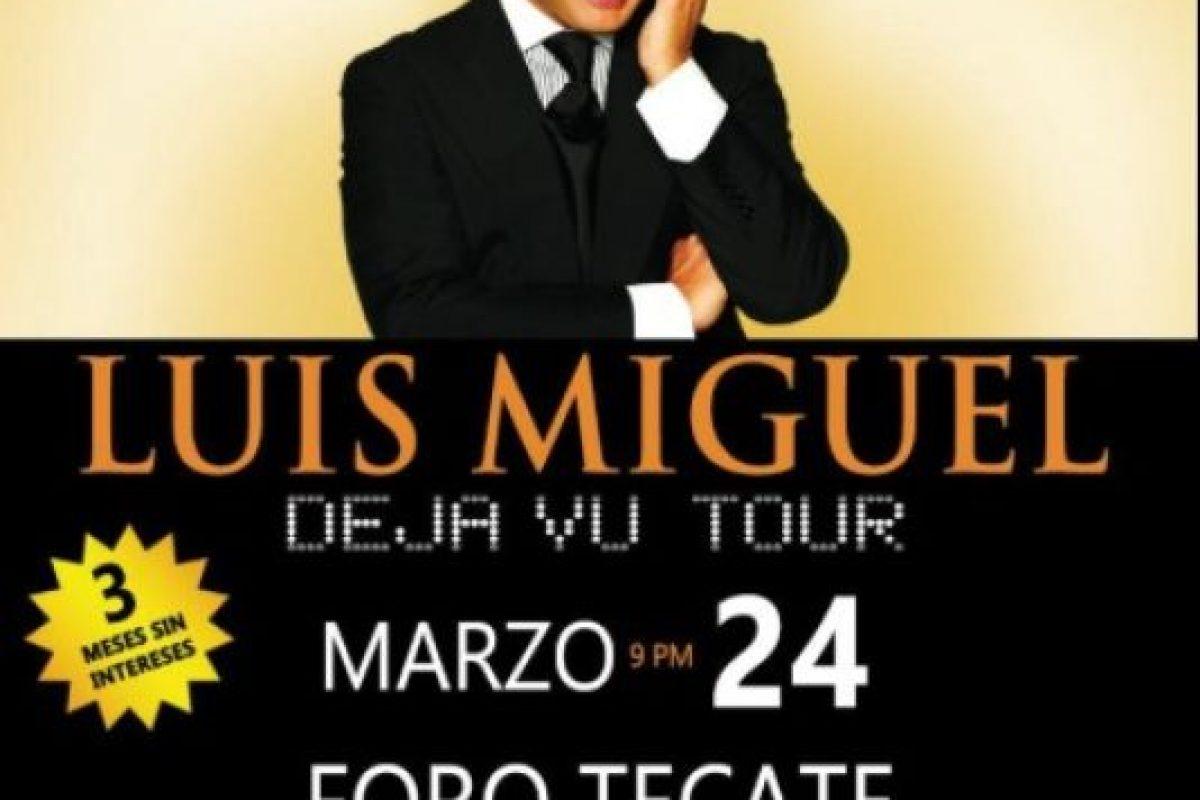 MARZO: Canceló su show en el Foro Tecate, esto después de que sus boletos no se vendieran como esperaba. Foto:vía twitter.com. Imagen Por: