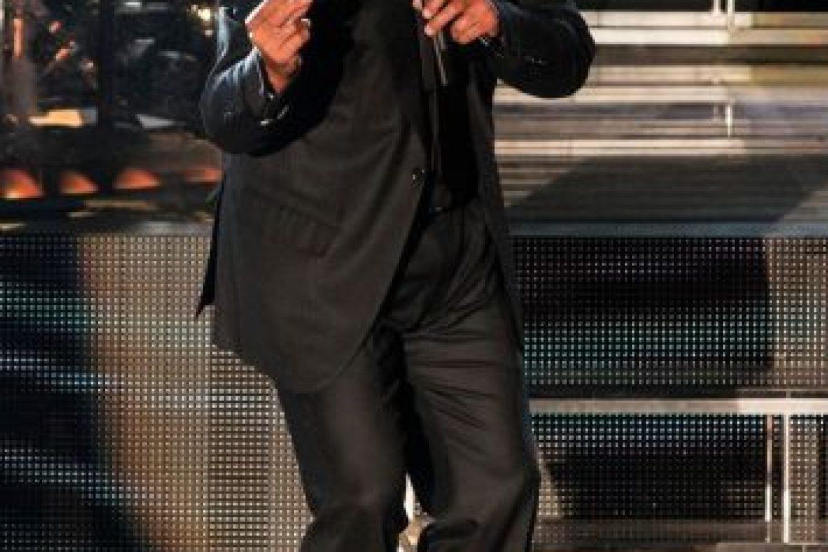 """ENERO: El cantante se presentó en el Auditorio Nacional de la Ciudad de México con el tour """"Déjà vu"""". Foto:The Grosby Group. Imagen Por:"""