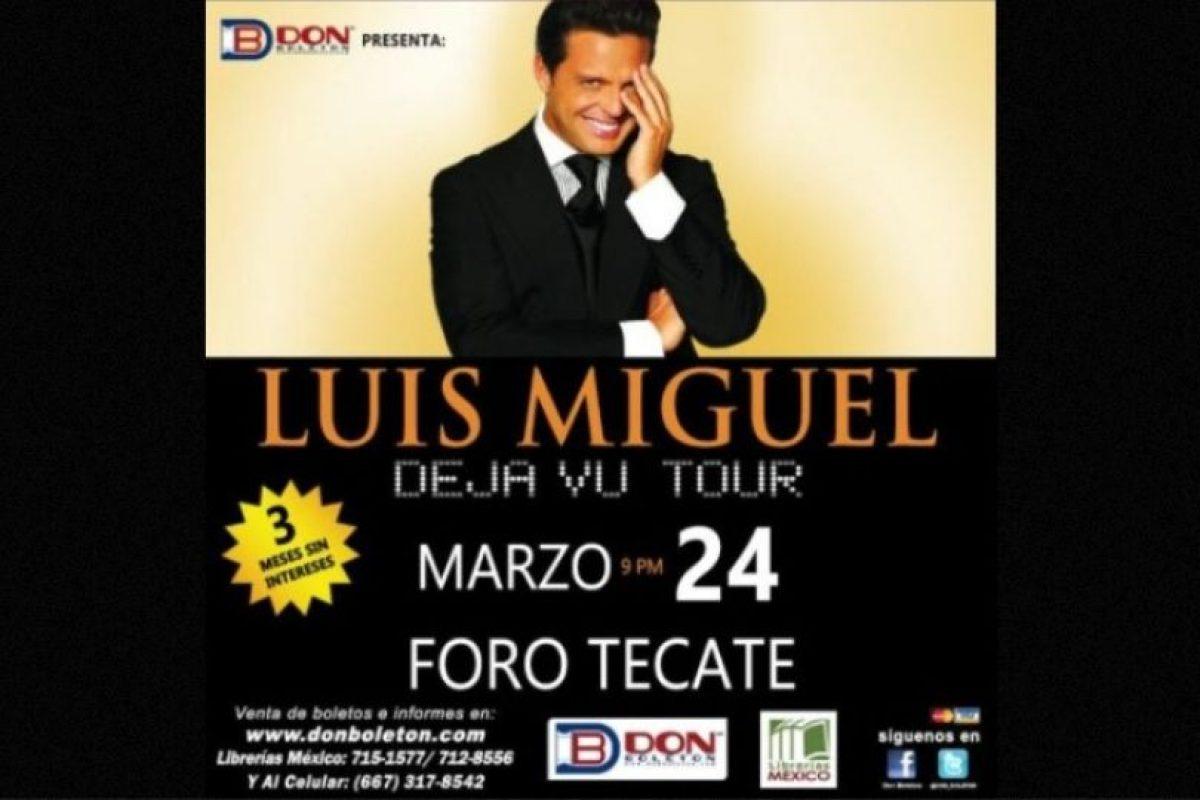 MARZO: Canceló su show en el Foro Tecate, esto después de que sus boletos no se vendieran como esperaba. Foto:Twitter. Imagen Por: