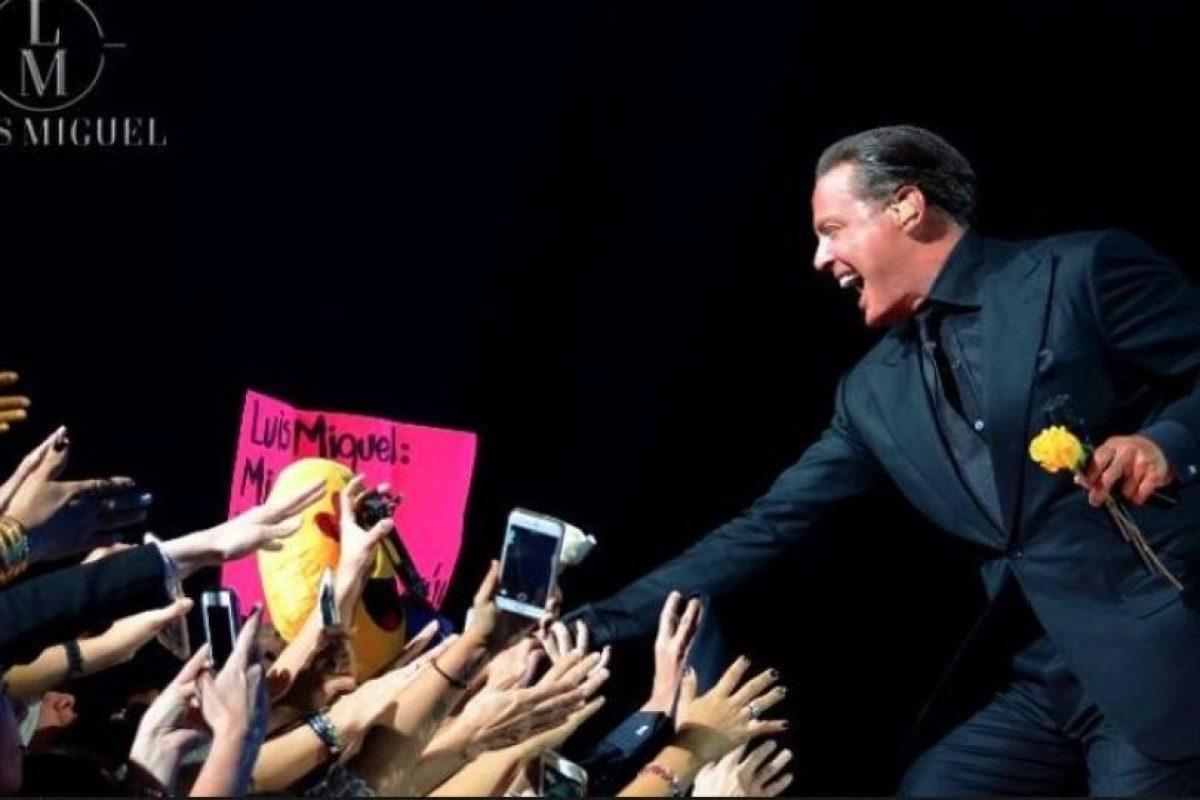 El 19 de noviembre, Luis Miguel canceló su segunda presentación en la Ciudad de México, 20 minutos después de haber iniciado. Foto:Facebook/LuisMiguel. Imagen Por: