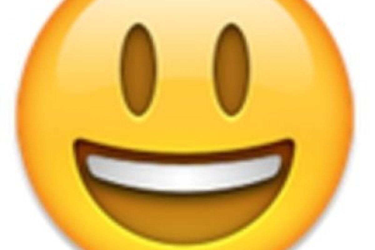 Carita feliz. Foto:vía emojipedia.org. Imagen Por: