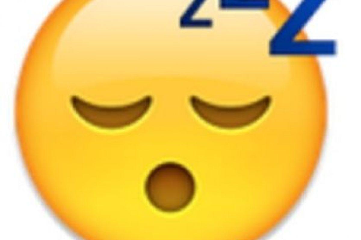 Rostro con cara de sueño. Foto:vía emojipedia.org. Imagen Por: