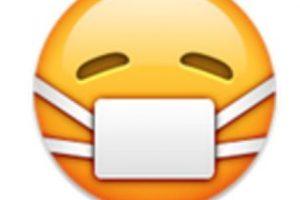 Rostro con cubre bocas. Foto:vía emojipedia.org. Imagen Por: