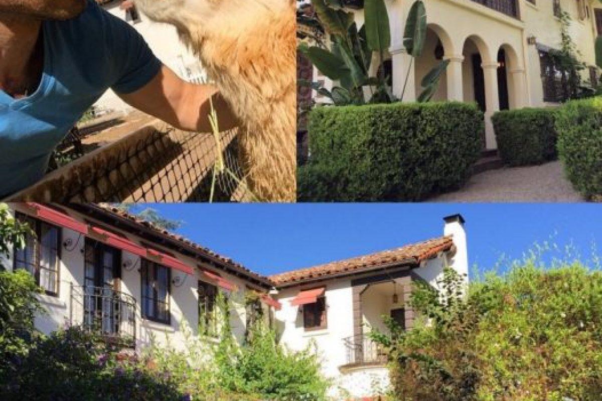 Michael Lucas durante su estancia en la mansión. Foto:instagram.com/michaellucasnyc. Imagen Por:
