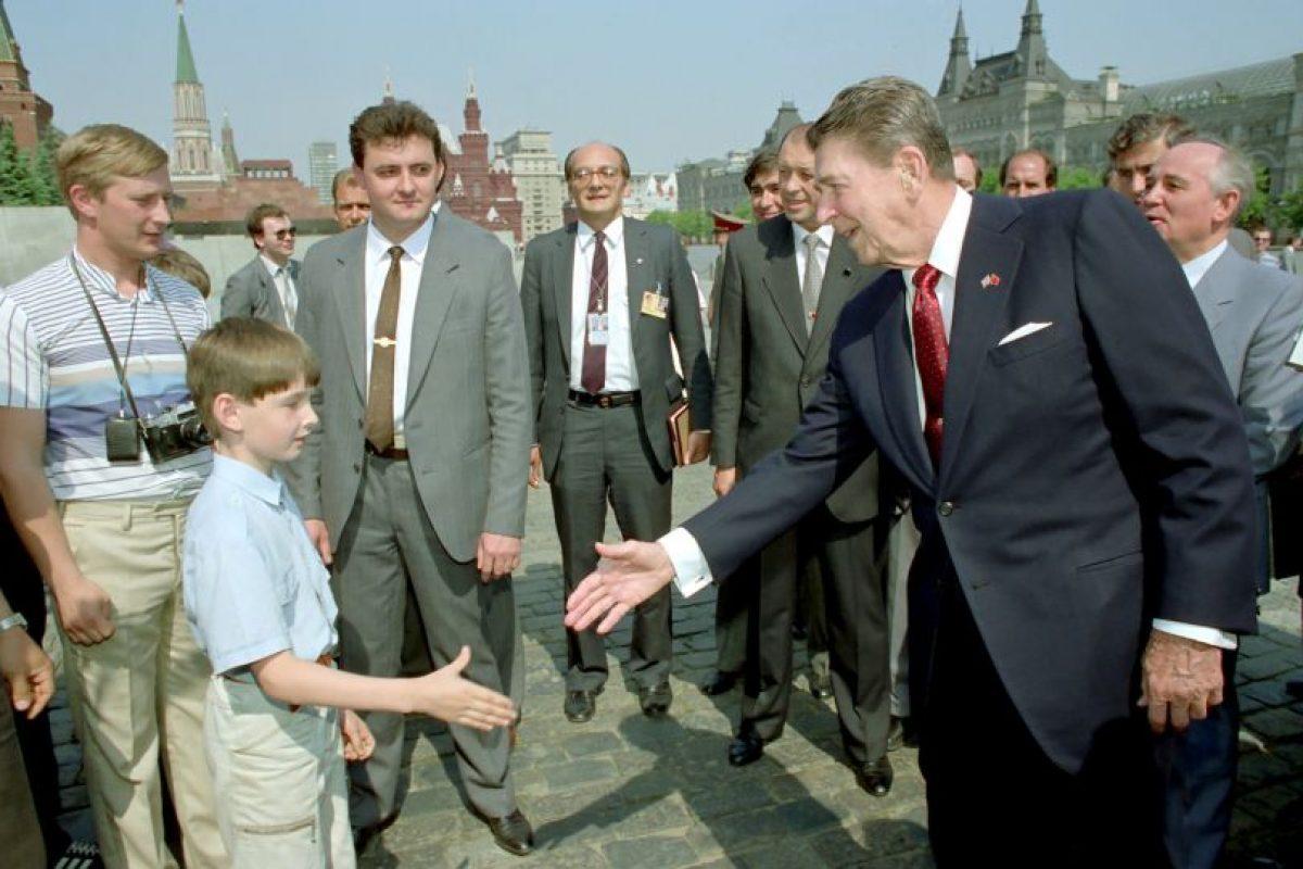 1. En la década de los años 80, durante la Guerra Fría Foto:Getty Images. Imagen Por: