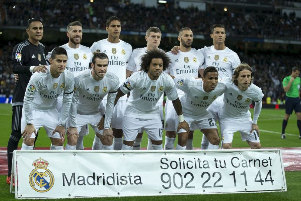 5. Real Madrid Foto:Getty Images. Imagen Por: