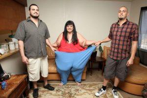 Ahora pesa 215 kilos. Foto:vía Barcroft Media. Imagen Por:
