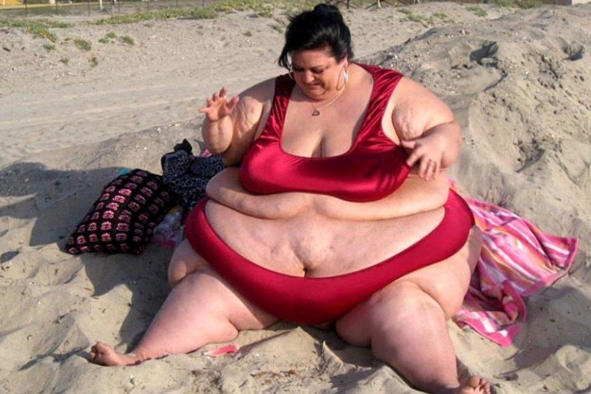 Patty Sánchez llegó a pesar 327 kilos y todo por amor. Foto:vía Barcroft Media. Imagen Por: