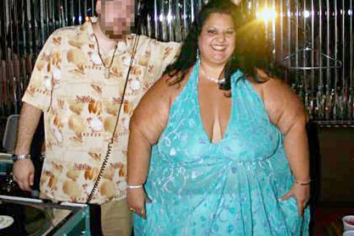 Este consiste en la adoración sexual por la obesidad mórbida y por ver comer a una mujer obesa. Patty también hacía este tipo de espectáculos para fans ávidos de este fetiche en Internet. Foto:vía Barcroft Media. Imagen Por:
