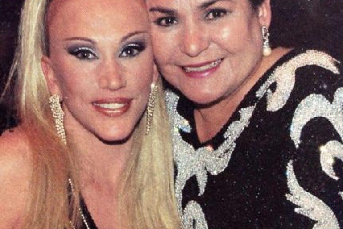 """Luego actuó en la reconocida novela """"El Premio Mayor"""". Foto:vía Facebook/Laura León """"La Tesorito"""". Imagen Por:"""