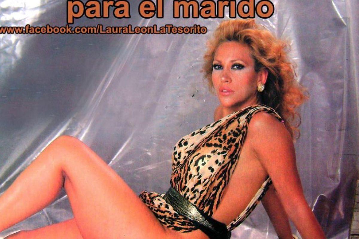 """Comienza a ser conocida por su apodo en un programa llamado """"Variedades Bacardí"""". Foto:vía Facebook/Laura León """"La Tesorito"""". Imagen Por:"""