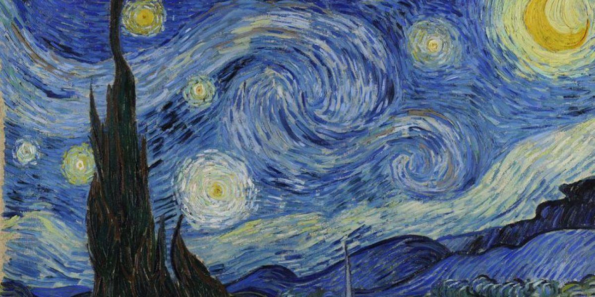 Recrean obra de Van Gogh con tapas de botellas de refresco