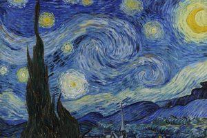 """""""La noche estrellada"""" es una obra maestra del pintor postimpresionista Vincent van Gogh. Foto:Vía Wikipedia Commons. Imagen Por:"""
