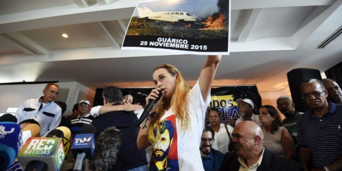 Esposa del opositor venezolano preso Leopoldo López: