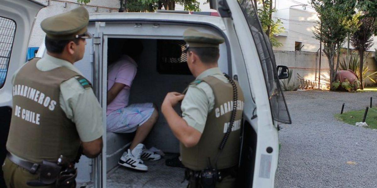 No quisieron parar en un control e iniciaron escape: habían robado el auto