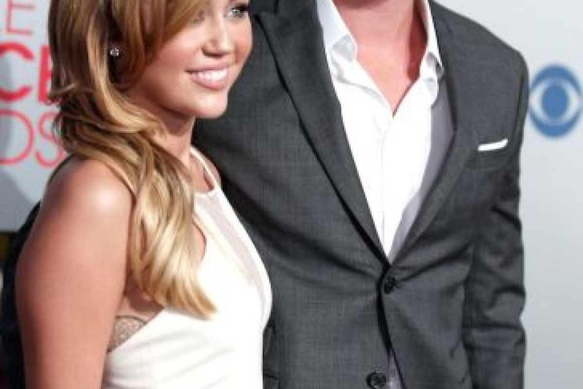 """El amor entre Liam Hemsworth y Miley Cyrus surgió dentro y fuera de la película """"La Última Canción"""" Foto:Getty Images. Imagen Por:"""