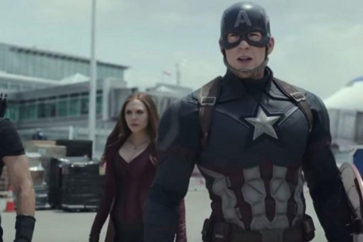 """Los protagonistas de """"Capitán América: Civil War"""" presentaron el primer tráiler oficial de la cinta que llegará a la pantalla grande el próximo 6 de mayo de 2016. Foto:Marvel. Imagen Por:"""